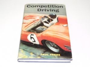 COMPETITION DRIVING. Paul Frere 1964